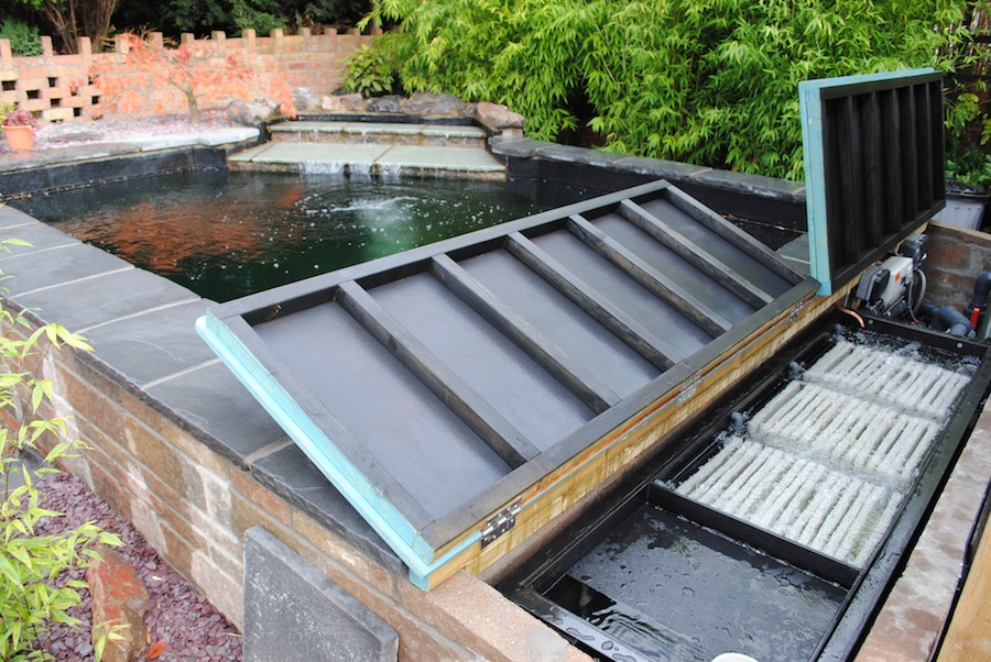 Eric koi pond filtration owners reports for Koi filtration systems