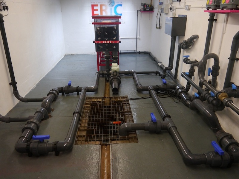 Finished pipe lines