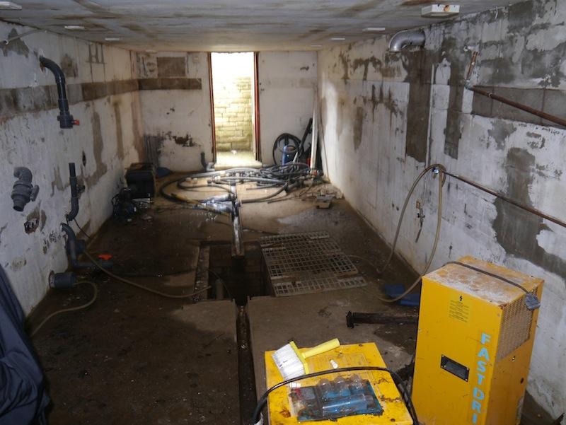 Filter house in need of repair