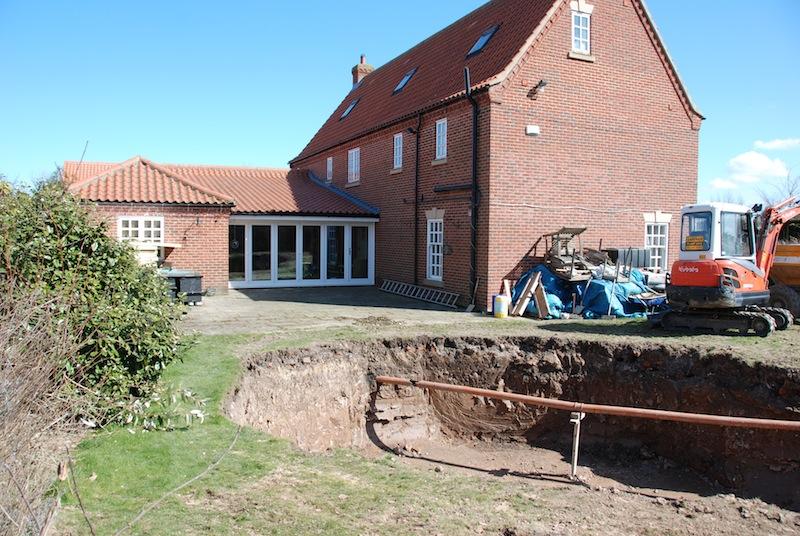 Excavation started