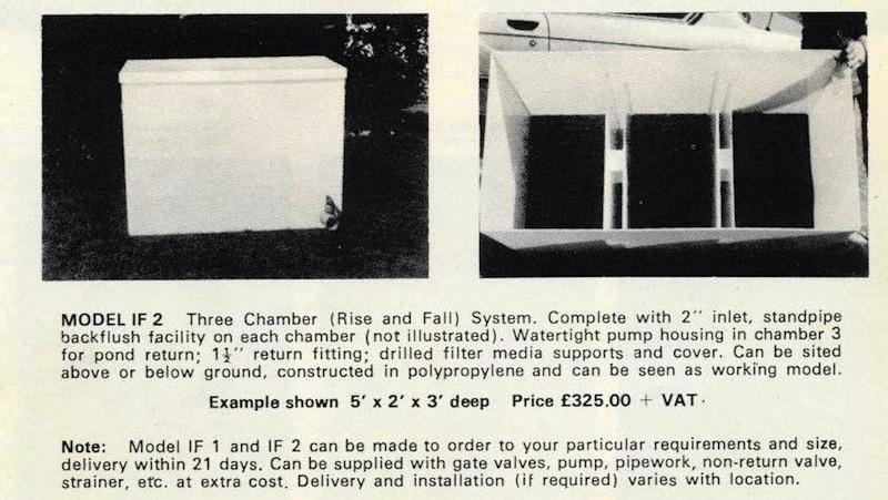 Eric koi pond filtration i first designed and produced for Pond gravel filter design